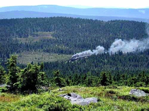 harz steam train, brocken