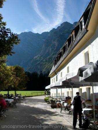 hunting lodge, restaurant, konigssee, berchtesgaden