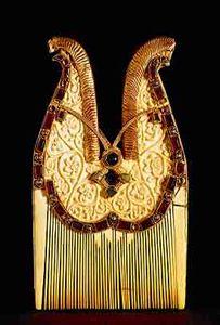 jeweled comb, quedlinburg treasure