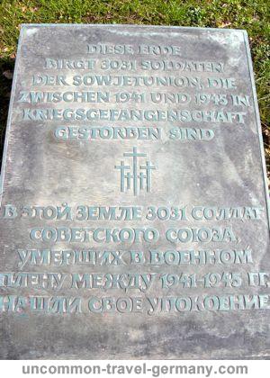 stalag 13c, russian pow grave