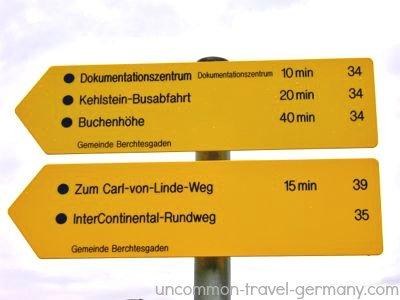 obersalzberg directions near berghof ruins