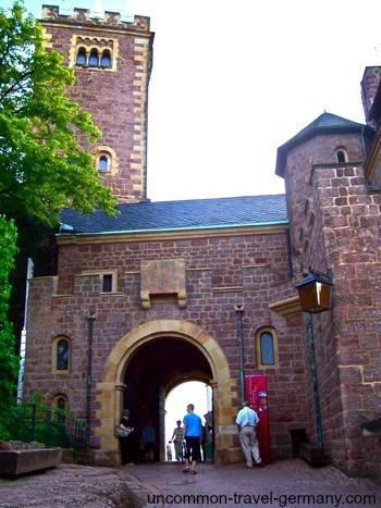 rear gate, wartburg castle