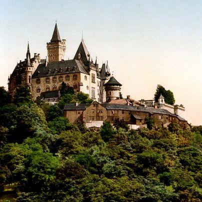 wernigerode castle, harz