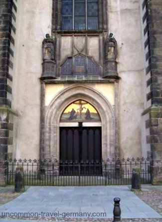 church doors, wittenberg