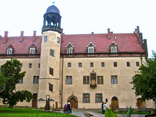 luthers house, wittenberg