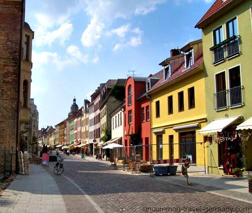 wittenberg germany street scene
