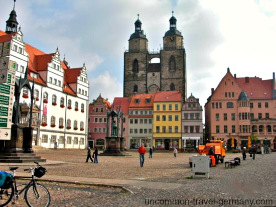 wittenberg markt, martin luther biography