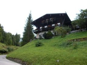 Hotel zum Turken from below, Obersalzberg