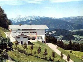 Hitler's Berghof in color, Obersalzberg, Germany