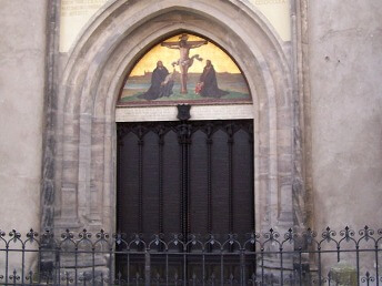 Wittenberg church doors
