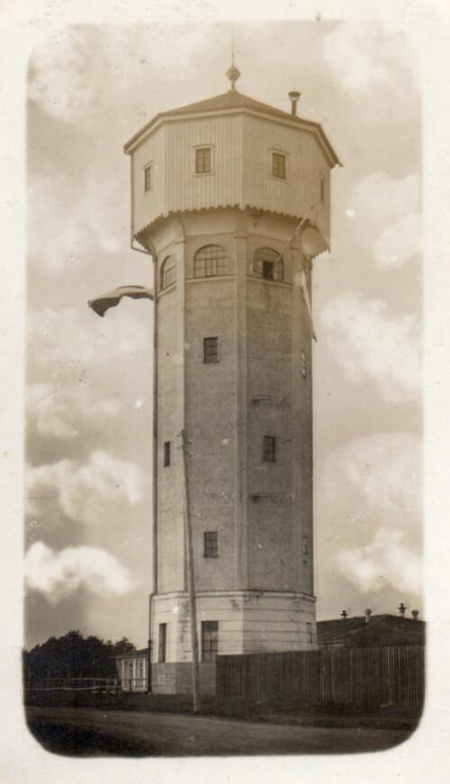 Guard tower at Lager Hammelburg, 1917