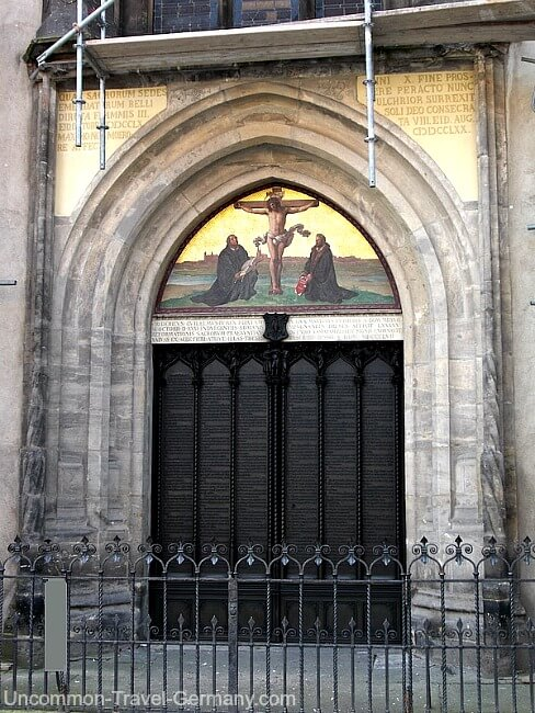 Doors of the Castle Church, Wittenberg Germany