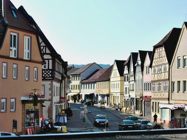 Hammelburg main street