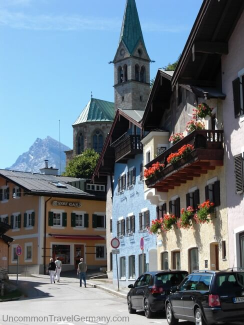 Street scene in Berchtesgaden Germany