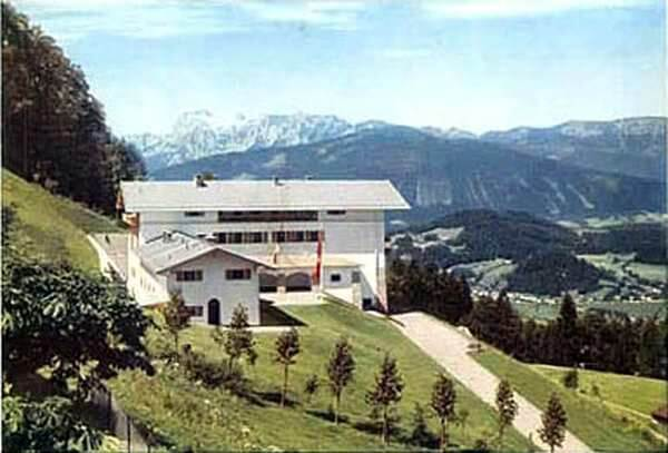 Hitler's Berghof in 1936 in color