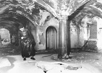 Berghof entryway after bombing