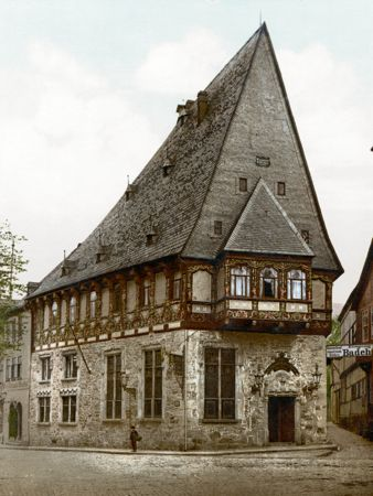 The Brusttuch Hotel, 1900, Goslar, Germany