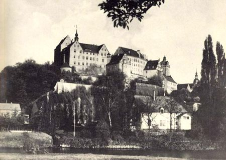 Colditz Castle in WW2