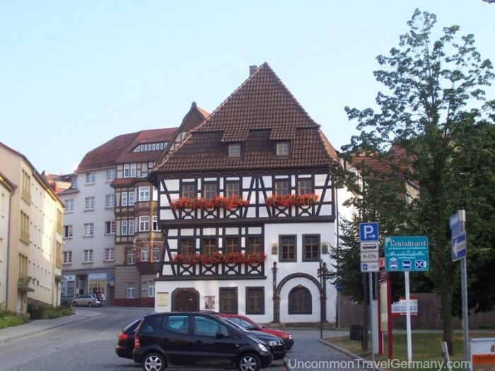 Martin Luther's house in Eisenach