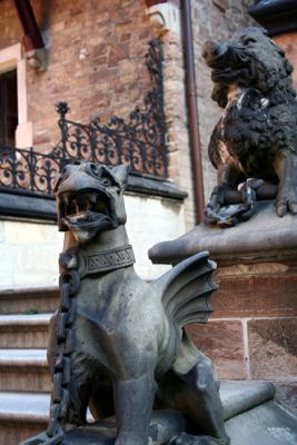 Wernigerode Castle Gargoyles, Harz Mountains