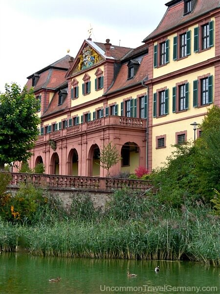 Red Palace in Hammelburg Germany