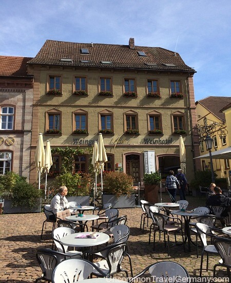 Weinhotel Mueller in Hammelburg Germany