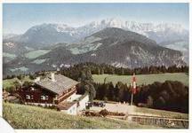 Haus Wachenfeld on Obersalzberg in color