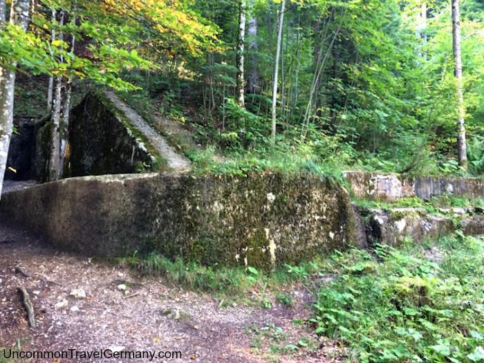 Ruins of Hitler's Berghof