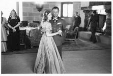 Wedding party at the Eagle's Nest, Eva Braun dancing with Hermann Fegelein