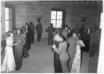 Wedding party at the Eagle's Nest, Gretl dancing with Waldemar Fegelein