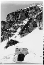Kehlsteinhaus, Eagle's Nest, in 1938, in winter