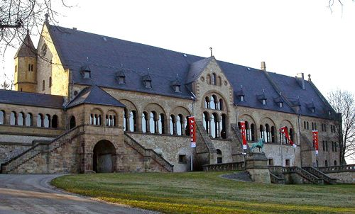 The Emperor's Palace, or Kaiserpfalz, Goslar, Germany