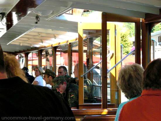 Inside the Electric Boat on the Königssee