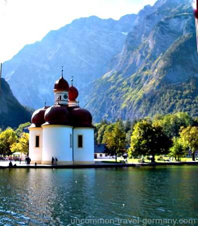 St. Bartholomä Church, Lake Königssee
