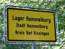 Sign for Lager Hammelburg