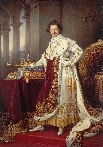 Portrait of King Ludwig I of Bavaria