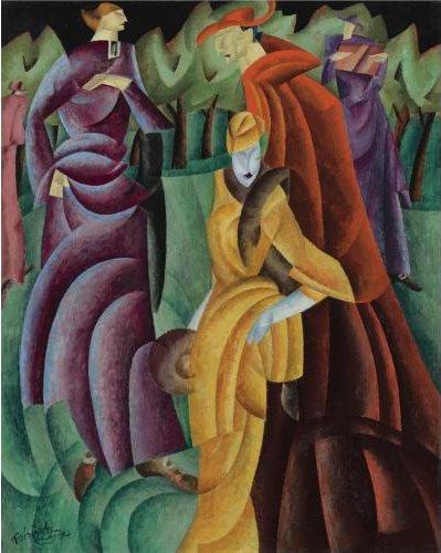 Lyonel Feininger, Jesuits III, 1915