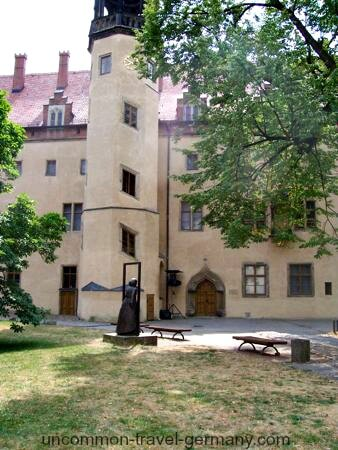 Martin Luther's House in Wittenberg, Germany