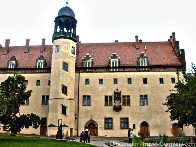 Martin Luther's Home, Cloister in Wittenberg Germany