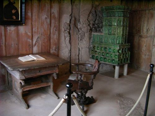 Martin Luther's Study, Wartburg Castle, Germany