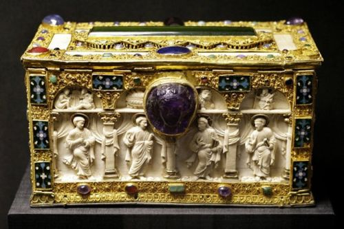 13th Century Reliquary, Quedlinburg treasure, Harz