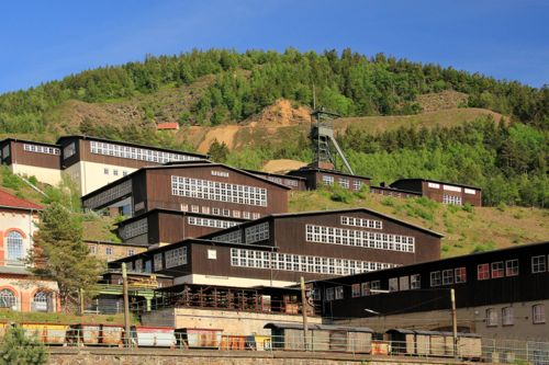 Rammelsberg Mine, near Goslar, Harz Mountians, Germany