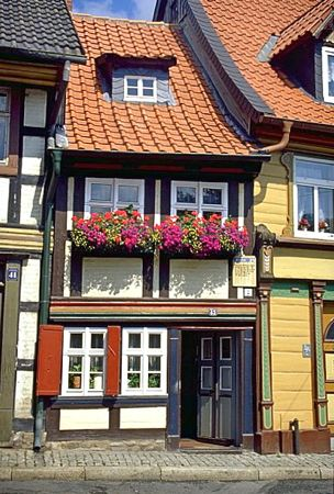 Smallest House in Wernigerode, Harz