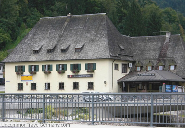 Tourist Information office building in Berchtesgaden