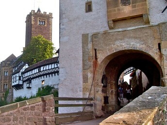 Wartburg Castle entrance