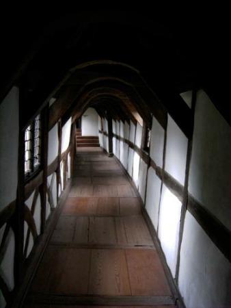 Passageway in the Burghof, Wartburg Castle, Germany