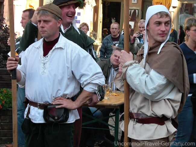 Medieval Men at Wittenberg Faire
