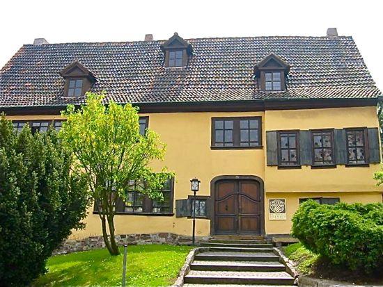 Bachhaus Museum, Eisenach Germany