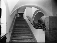 Stairs to second floor of the Berghof