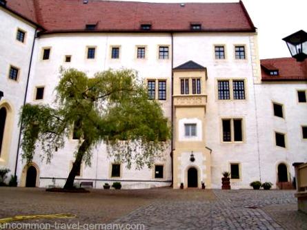 Colditz Castle prisoners courtyard